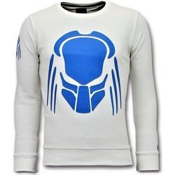 Textiel Heren Sweaters / Sweatshirts Local Fanatic Predator Neon Print Wit
