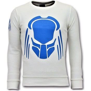 Textiel Heren Sweaters / Sweatshirts Local Fanatic Sweater - Predator Neon Print - Wit