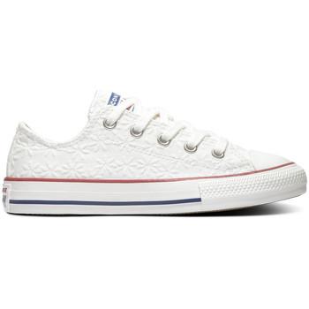 Schoenen Kinderen Lage sneakers Converse Chuck taylor all star ox Wit