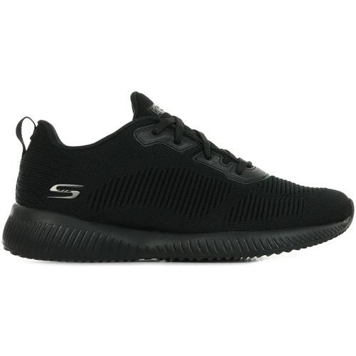 Schoenen Dames Lage sneakers Skechers Bobs Squad Zwart