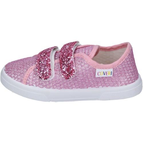 Schoenen Meisjes Sneakers Enrico Coveri BN694 Roze