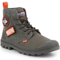Schoenen Heren Hoge sneakers Palladium Manufacture Pampa HI Change U 76648-325-M olive green