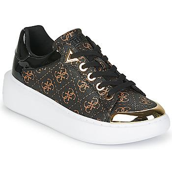 Schoenen Dames Lage sneakers Guess BRANDYN Bruin