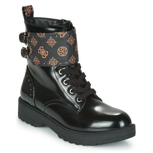 Schoenen Dames Laarzen Guess WANDA Zwart