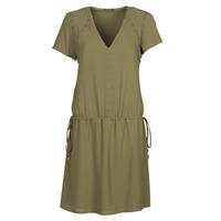 Textiel Dames Korte jurken Ikks BR30015 Kaki