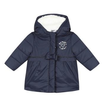 Textiel Meisjes Dons gevoerde jassen 3 Pommes 3R42012-49 Marine