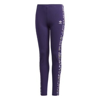 Textiel Meisjes Leggings adidas Originals SOLID LEGGINGS Violet