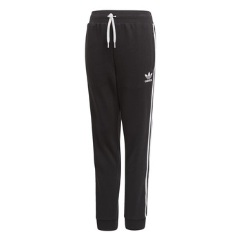 Textiel Kinderen Trainingsbroeken adidas Originals TREFOIL PANTS Zwart