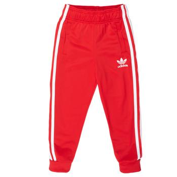 Textiel Kinderen Trainingsbroeken adidas Originals SST TRACKPANT Rood