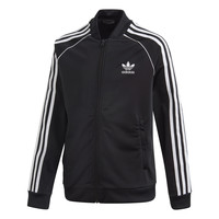 Textiel Kinderen Trainings jassen adidas Originals SST TRACKTOP Zwart