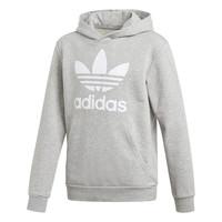 Textiel Jongens Sweaters / Sweatshirts adidas Originals TREFOIL HOODIE Grijs