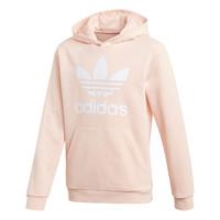 Textiel Meisjes Sweaters / Sweatshirts adidas Originals TREFOIL HOODIE Roze