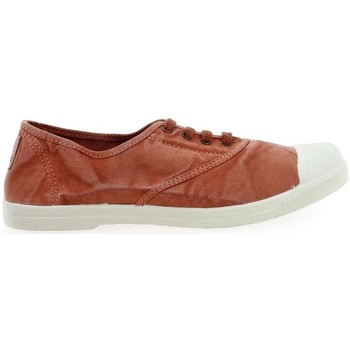 Schoenen Dames Sneakers Natural World Basket Wine 642-102E Oranje