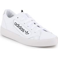 Schoenen Dames Lage sneakers adidas Originals Adidas Sleek W EF4935 white