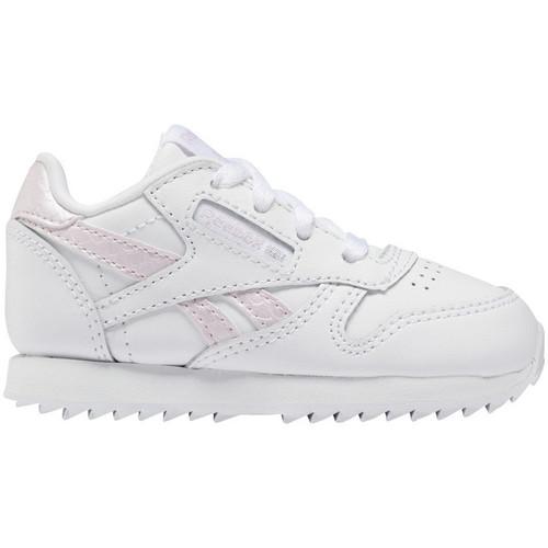 Schoenen Kinderen Lage sneakers Reebok Sport Classic leather Wit