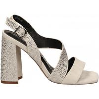 Schoenen Dames Sandalen / Open schoenen Luciano Barachini CAMOSCIO ghiaccio