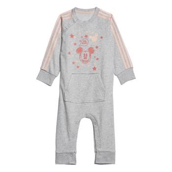 Textiel Meisjes Pyjama's / nachthemden adidas Performance INF DY MM ONE Wit