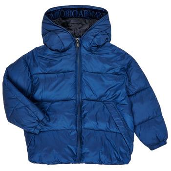 Textiel Jongens Dons gevoerde jassen Emporio Armani 6H4BF9-1NLYZ-0975 Marine