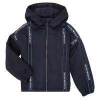 Textiel Jongens Wind jackets Emporio Armani 6H4BL0-1NYFZ-0920 Marine