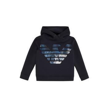 Textiel Jongens Sweaters / Sweatshirts Emporio Armani 6H4MA9-1JDSZ-0920 Marine