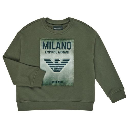 Textiel Jongens Sweaters / Sweatshirts Emporio Armani 6H4MM1-4J3BZ-0564 Kaki