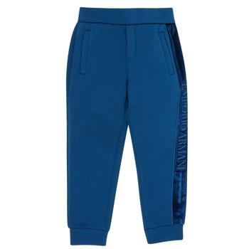 Textiel Jongens Trainingsbroeken Emporio Armani 6H4P84-1JDSZ-0975 Marine