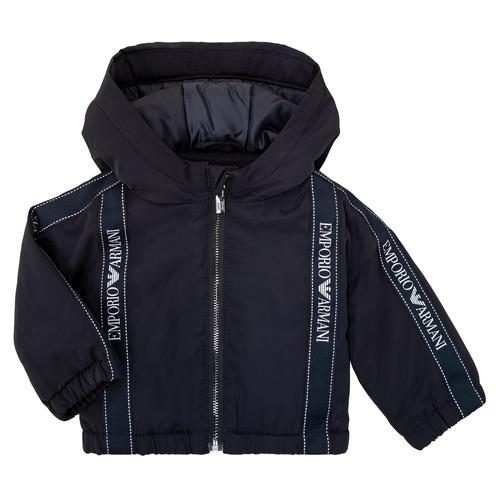 Textiel Jongens Wind jackets Emporio Armani 6HHBL0-1NYFZ-0920 Marine