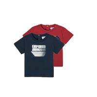 Textiel Jongens T-shirts korte mouwen Emporio Armani 6HHD22-4J09Z-0353 Multicolour