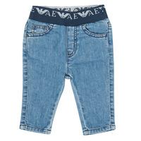Textiel Jongens Skinny jeans Emporio Armani 6HHJ07-4D29Z-0942 Blauw
