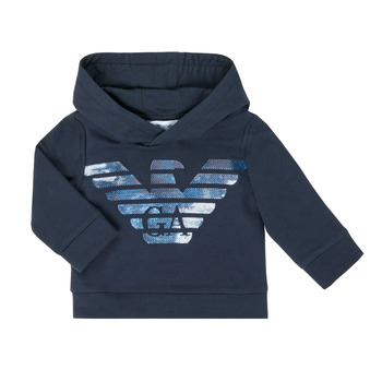 Textiel Jongens Sweaters / Sweatshirts Emporio Armani 6HHMA9-4JCNZ-0922 Marine