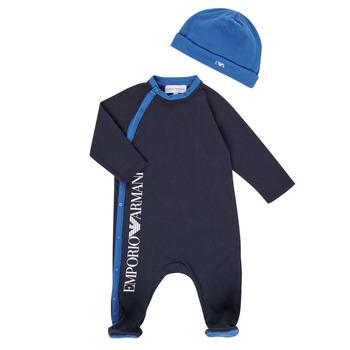 Textiel Jongens Pyjama's / nachthemden Emporio Armani 6HHV12-4J3CZ-0922 Marine