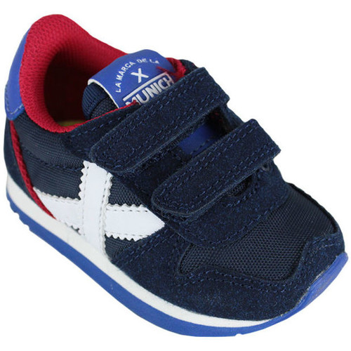 Schoenen Kinderen Sneakers Munich baby massana vco 8820376 Blauw