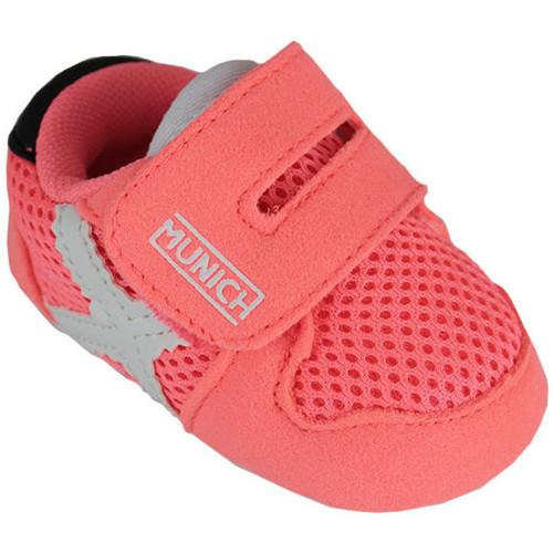 Schoenen Kinderen Sneakers Munich zero 8240031 Roze