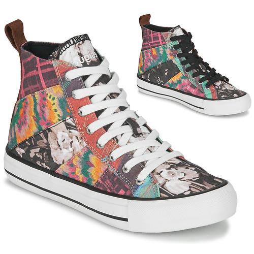 Schoenen Dames Hoge sneakers Desigual BETA_HERITAGE Multi