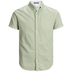 Textiel Heren Overhemden korte mouwen Jack & Jones  Multicolour