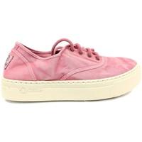 Schoenen Dames Lage sneakers Natural World Basket Platform Rosa 603-6112E Roze