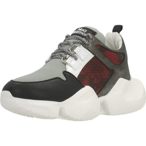 Schoenen Dames Lage sneakers Noa Harmon 8279 Rood