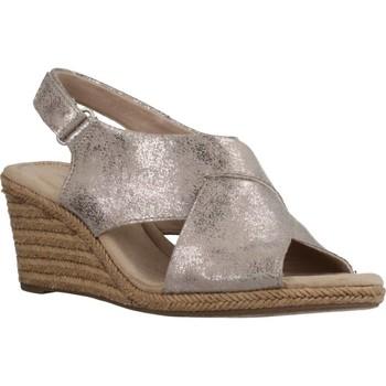 Schoenen Dames Sandalen / Open schoenen Clarks LAFLEY ALAINE PEWTER Beige