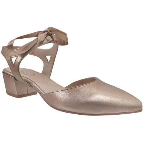 Schoenen Dames pumps Folies 004@ Goudkleurig leer