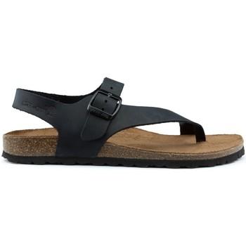 Schoenen Dames Sandalen / Open schoenen Interbios Rivoli, TORINO BLACK
