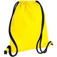 Tassen Kinderen Sporttas Bagbase BG110 Geel/zwart