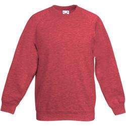 Textiel Kinderen Sweaters / Sweatshirts Fruit Of The Loom 62039 Heather Rood