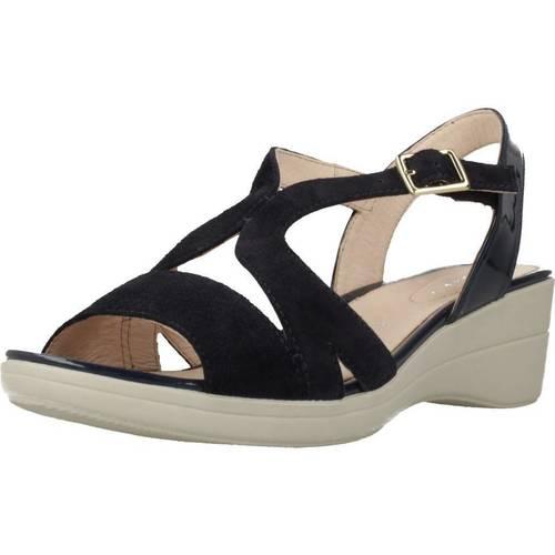 Schoenen Dames Sandalen / Open schoenen Stonefly VANITY III 7 Blauw