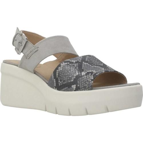 Schoenen Dames Sandalen / Open schoenen Geox D TORRENCE A Grijs
