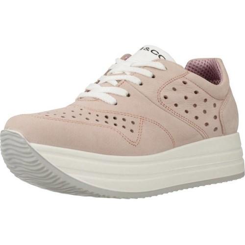 Schoenen Dames Lage sneakers IgI&CO 5165711 Bruin