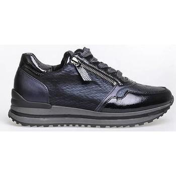 Schoenen Dames Lage sneakers Gabor SNAKE CITY 21 OCEAN 2116 Blauw