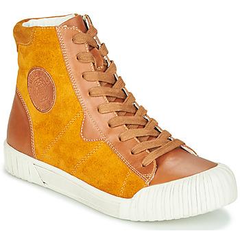 Schoenen Dames Hoge sneakers Karston OMSTAR Oker
