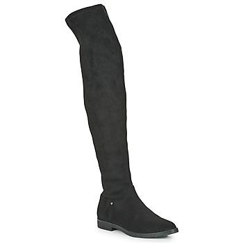 Schoenen Dames Hoge laarzen Karston KAPOU Zwart