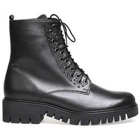 Schoenen Dames Hoge sneakers Gabor . Foulardcalf . Los voetbed.  2. BLACK.  1069 Zwart