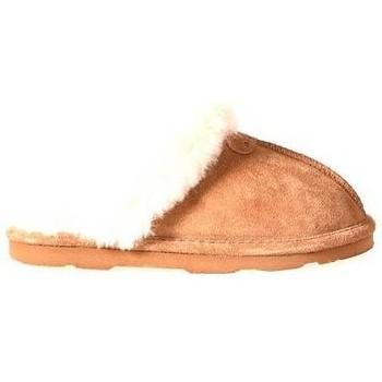 Schoenen Dames Sloffen Bearpaw LOKI ll 29 HICKORY 3091 Cognac/Camel